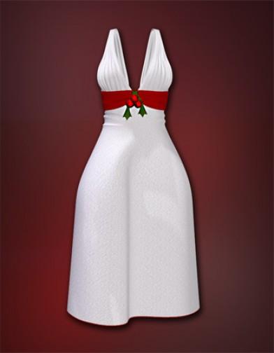 morphs for Jingle bell dress image