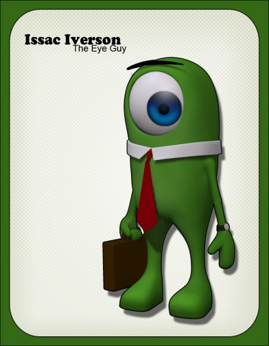 Isaac Iverson the eye guy image
