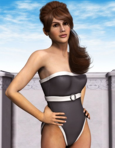 Front Buckle Swimsuit for Dawn image