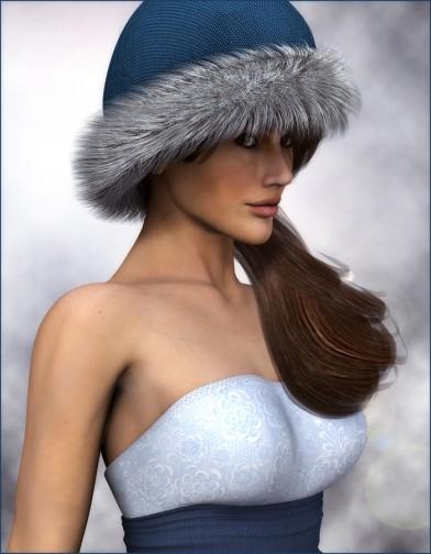 Fur Trim Hat for Dawn Image