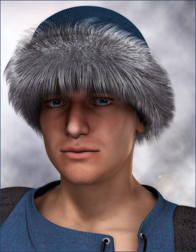 Fur Trim Hat for Mike 4