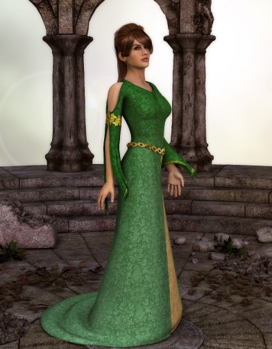 Ladies of the Court: Gwen Dress for Dawn Image