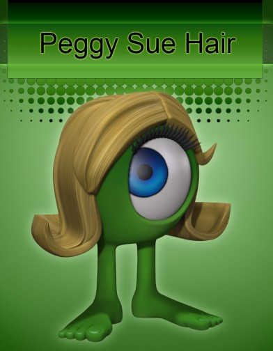 Peggy Sue Hair for Rounds