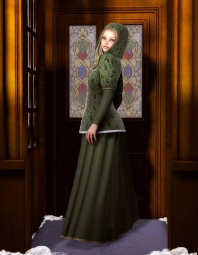Caroling Dress for V4 Image