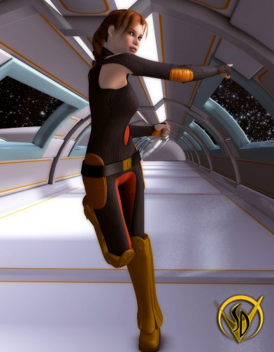 Space Defenders Solar Patrol: Mechanic V4 Image