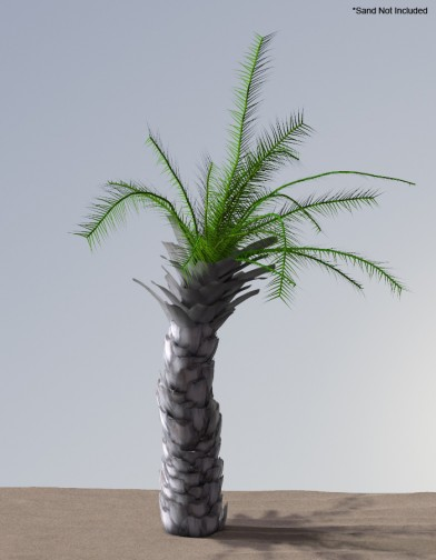 Digital Alchemy: Date Palm Image