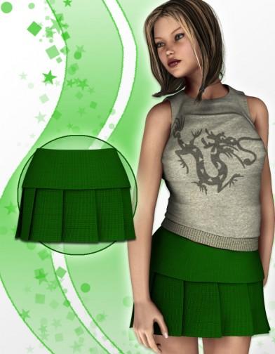 School Girl Skirt 2 for V4