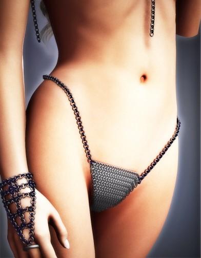 Chainmail Bikini Bottom for V4