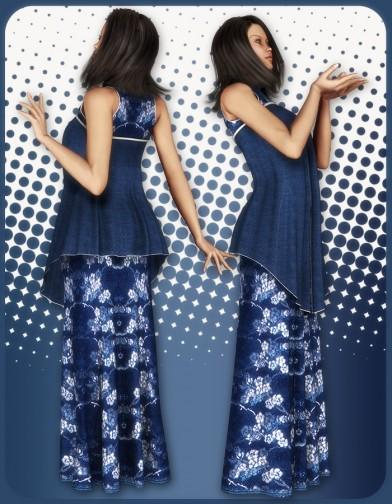 Asian Priestess Shirt for V4 Image