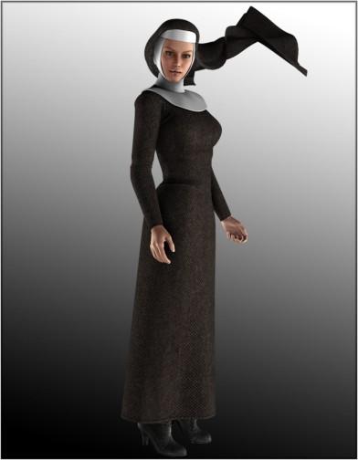 Nun Veil for V4