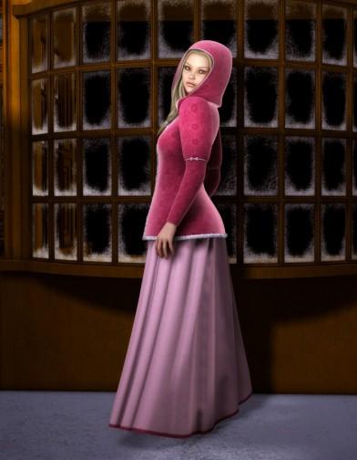 Valentine for Caroling Dress Image