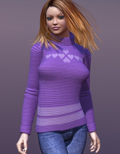 Simply Sweet Textures for Essentials Sweater Image