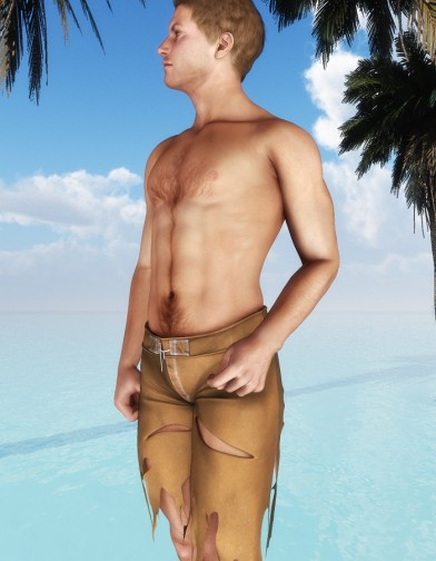Shipwrecked Board Shorts for M4 image