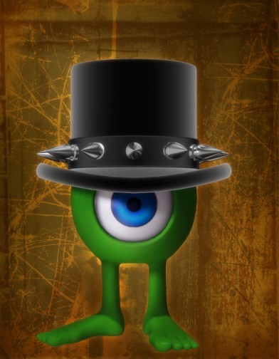 Goth Top Hat for RoundONE and RoundTWO Image
