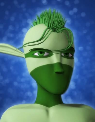 MoHair for Ninja Sprite Male Image