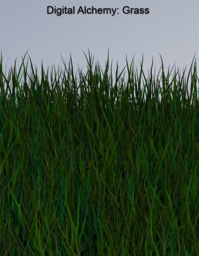 Digital Alchemy: Grass Image