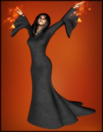 Witchy Dress for V4