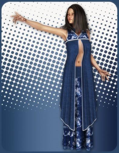 Asian Priestess Skirt for V4