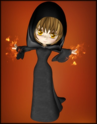 Witchy Dress for Cookie