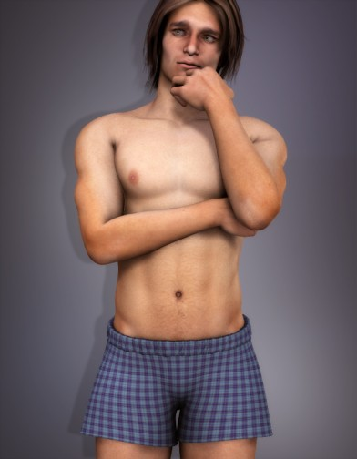 Boxer Shorts Plaid Image