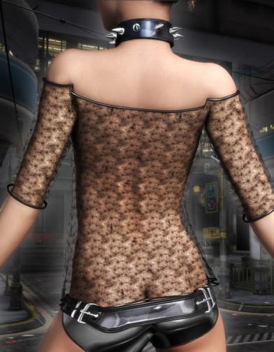 Night Slayers: Vixen Shirt for V4