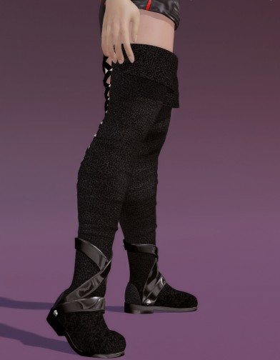 Thigh High Boots for Michelle Image