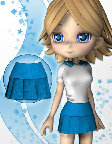 School Girl Skirt 2 for Cookie Image