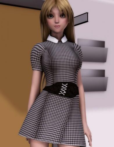 Nice Girl Dress for A3 Image