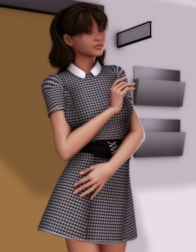 Nice Girl Dress for V4 Image