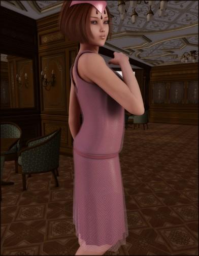 Nostalgia: 1920s Flapper Dress for V4 Image