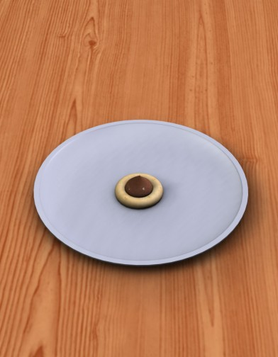 Peanut Butter Blossom Cookie Image