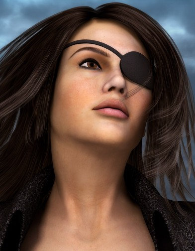 Pirate Eyepatch for Dawn image