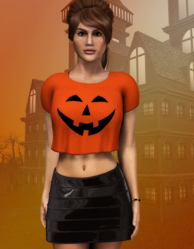 Pumpkin Shirt for Dawn image