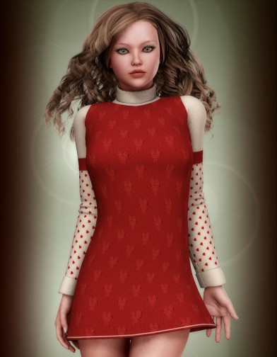 Holidays: Rocket Dress Xmas Textures Image