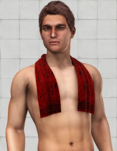 Shoulder Towel Textures image