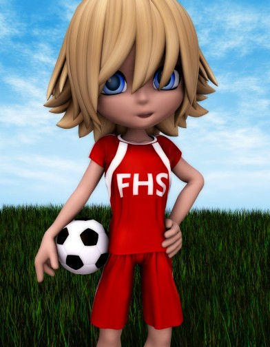 School Spirit: Soccer Uniform for Chip Image