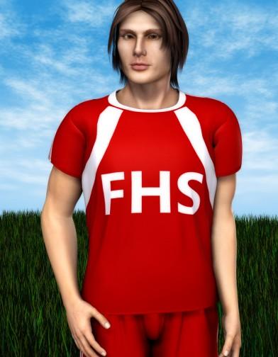 School Spirit: Soccer Uniform for Dusk Image