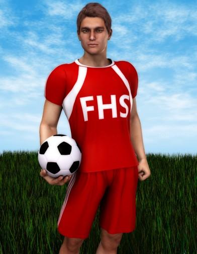 School Spirit: Soccer Uniform for M4 Image