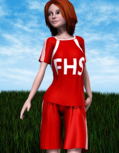 School Spirit: Soccer Uniform for SuzyQ 2 Image