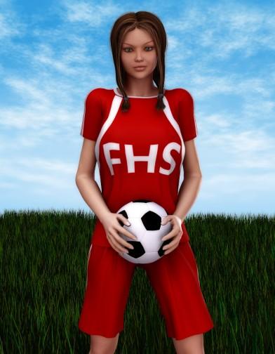 School Spirit: Soccer Uniform for V4 IMage