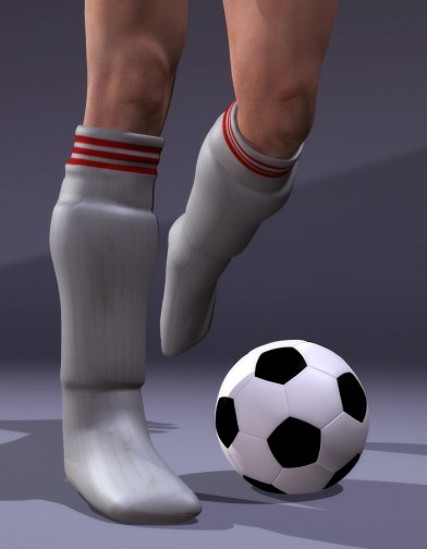 School Spirit: Soccer Socks and Shin Guards for M4 Image