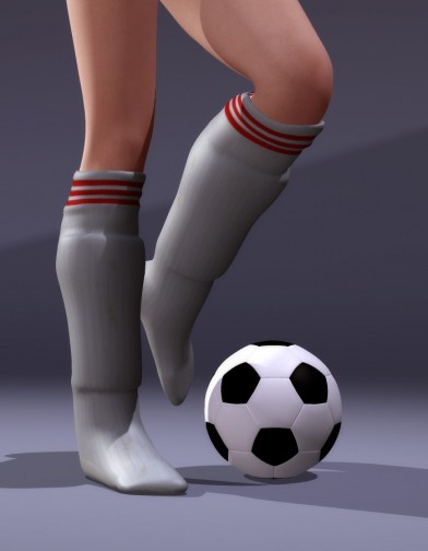 School Spirit: Soccer Socks and Shin Guards for V4 Image