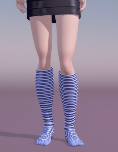 Knee High Toe Sock for SuzyQ 2 Image
