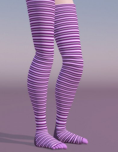 Thigh High Toe Sock for SuzyQ 2 Image