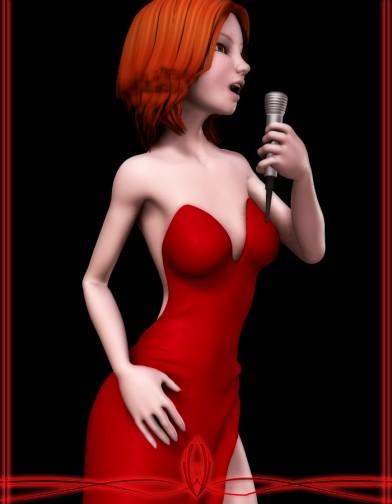 Lounge Singer Dress for SuzyQ 2 Image