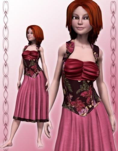 Tavern Dress for SuzyQ 2 Image