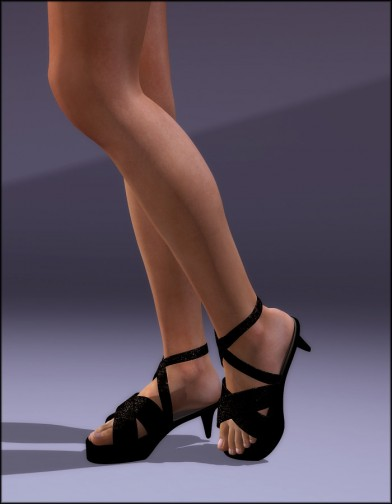 Strappy Heels for Dawn Image