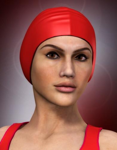 Swim Cap for Dawn image