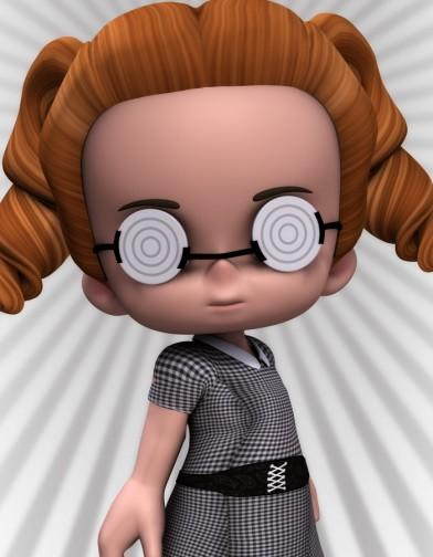 Toon Nerd Glasses for Lil Bit Image