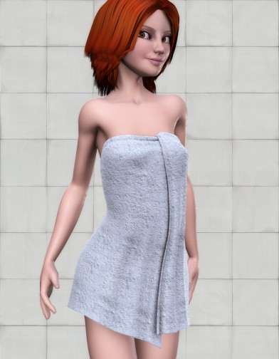 Full Body Towel for SuzyQ 2 Image